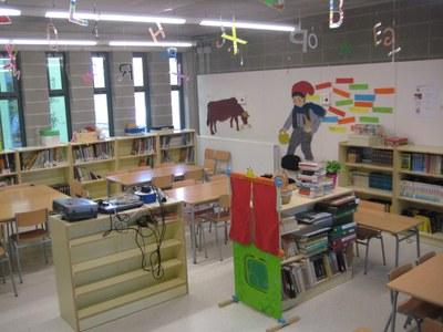 La biblioteca de l'escola Rossend Montané obrirà al públic cada dilluns a la tarda