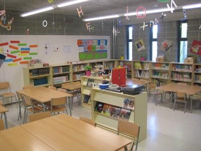 Biblioteca de l'escola Rossend Montané