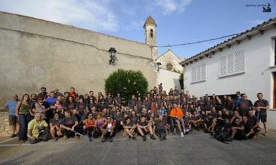 La Caminada de Moja a Montserrat torna a convertir-se en un gran acte de lleure popular