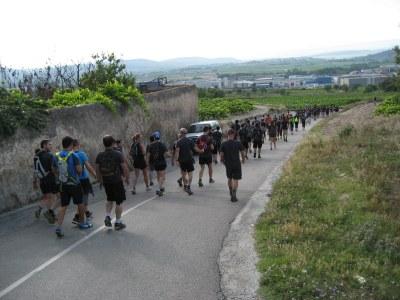 La caminada nocturna de Moja a Montserrat compta amb 65 inscrits