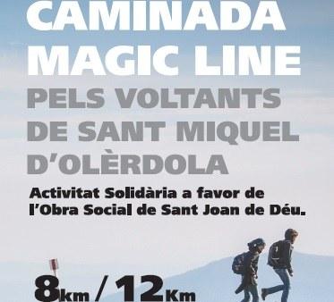 """La caminada solidària """"Magic Line"""" pels voltants de Sant Miquel compta amb 380 inscrits"""