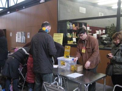 Diumenge i dissabte es van recollir signatures al Local Nou