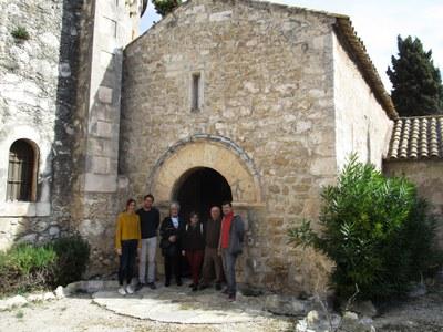 La capella de Sant Cugat de Moja s'ha reobert al públic aquest diumenge