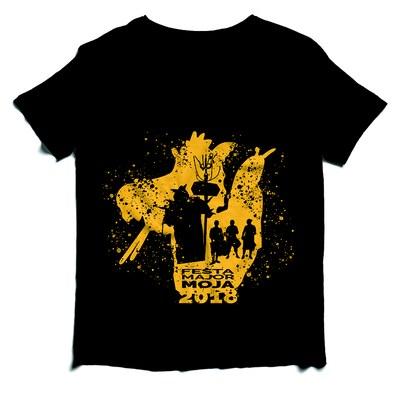 La Capta dels Diables de Moja posa a la venda una samarreta amb els elements que integren la colla