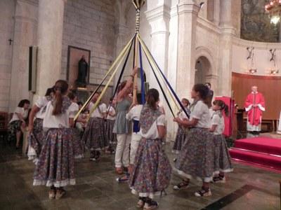 La cercavila de la Festa Major de Moja incorporarà la imatge de Sant Jaume i passarà a ser processó