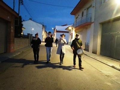 El grup Inxanetes va ser l'encarregat de portar la música de gralla a Moja aquest dissabte