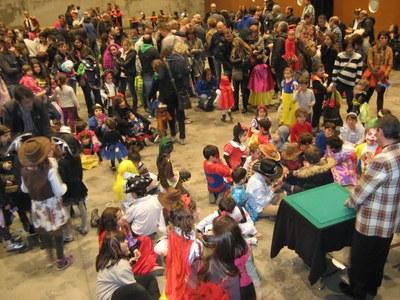La Comissió de Festes de Moja oferia aquest dissabte Carnaval infantil al Local Nou