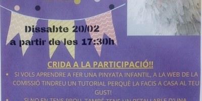 La Comissió de Festes de Moja prepara per aquest dissabte activitats per celebrar un carnaval confinat
