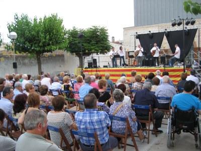 L'actuació del grup Trams tancava la Festa Major