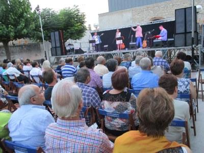 El concert de Trams, per tercer any consecutiu, tancava la festa aquest diumenge a la nit