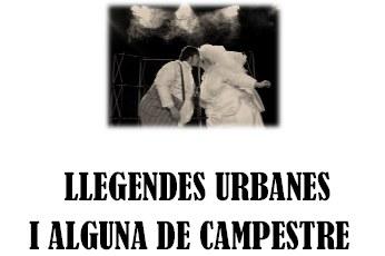 """La companyia  professional """"Grappa Teatre"""" preestrena a Sant Miquel """"Llegendes urbanes"""""""