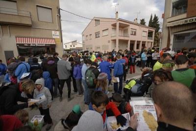 """La Cursa d'Orientació Solidària """"Vallmoranta"""" aconsegueix recaptar 4.373 euros per La Marató de TV3"""