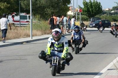 """La cursa de """"pocket bikes"""" de Sant Pere Molanta arriba dissabte a la seva 10a edició"""