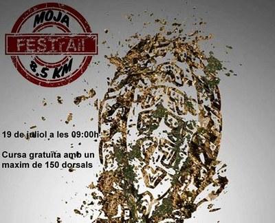 Fragment del cartell que anuncia l'acte