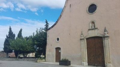 L'església és el punt d'inici de la ruta