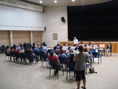 La depuradora i instal·lar gespa al camp de futbol, propostes destacades de CiU per Sant Miquel