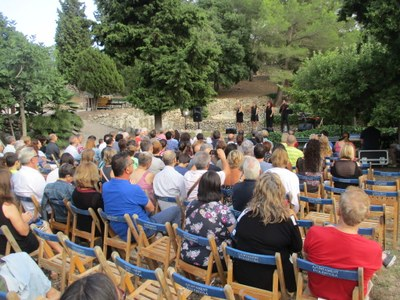 La difusió cultural entretinguda s'anota un nou èxit en el segon dels Vespres al Castell d'Olèrdola