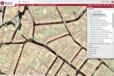 La Diputació de Barcelona actualitza la cartografia topogràfica urbana d'Olèrdola