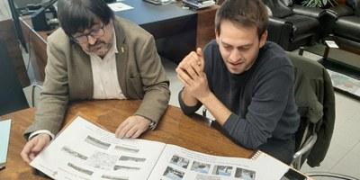 La Diputació ha lliurat el Pla director d'usos de la Torre de Moja