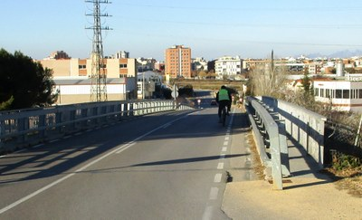 La Diputació preveu acordar amb Foment una proposta per a completar l'itinerari de vianants de Moja a Vilafranca