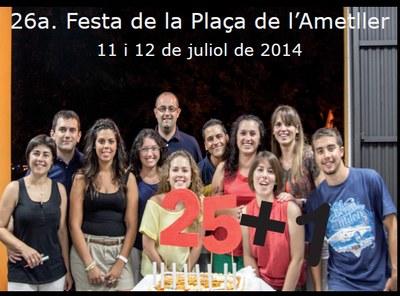 La Festa de la plaça de l'Ametller de Moja arriba a la seva 26a edició