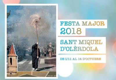La Festa Major de Sant Miquel d'Olèrdola acull aquest divendres un homenatge a Josep Anton Tubella