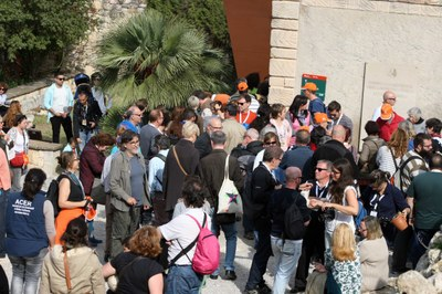 La Festa Major del parc ha reunit aquest diumenge a 700 persones al Conjunt Monumental