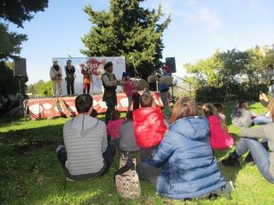 La Festa Major del Parc ha reunit aquest diumenge a prop de 300 persones al Conjunt monumental