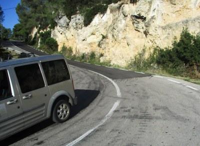 La Generalitat desestima la proposta avalada per la Diputació i l'Ajuntament continua sent el titular de la carretera de Daltmar
