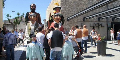 La Jornada Gegantera d'aquest diumenge ha permès difondre la història i activitats dels Gegants de Moja