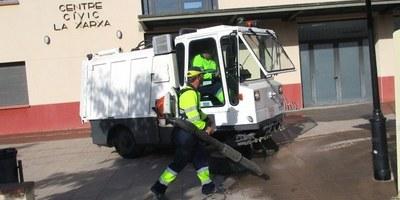 La Junta de Govern Local aprova la licitació del nou contracte del servei de neteja viària