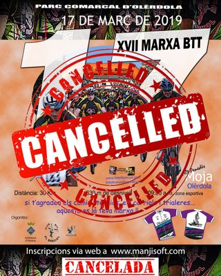 La Marxa BTT de Moja es cancel.la aquest any perquè la normativa impedeix mantenir el seu recorregut
