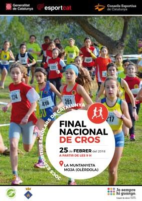 La Muntanyeta acollirà el diumenge 25 de febrer la Final Nacional de Cros de Catalunya