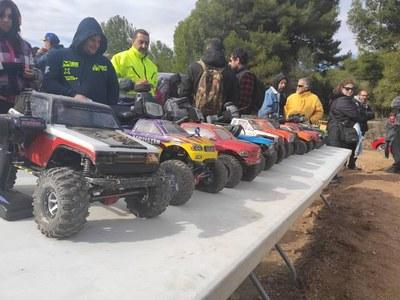 La Muntanyeta acull la primera prova del campionat estatal de cotxes tot terreny dirigits per radiocontrol