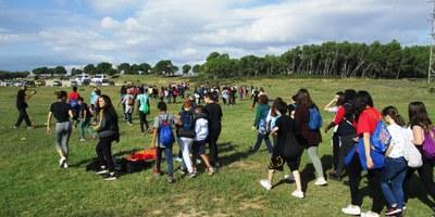 La Muntanyeta es consolida com a espai de lleure per la comarca i durant la Castanyada ha acollit activitats d'escoles i instituts