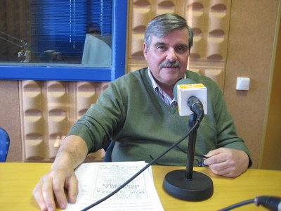 Josep Castellví és el vicepresident del Casal d'Avis
