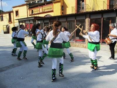 """La nova junta del grup de bastoners """"El toc d'Olèrdola"""" es fixa com a objectiu reimpulsar l'agrupació"""