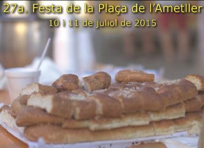 La plaça de l'Ametller de Moja viu aquest cap de setmana la seva 27a festa