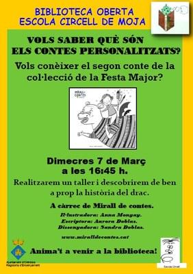 La presentació a Moja del conte personalitzat de la FM de Vilafranca es posposa fins dimecres