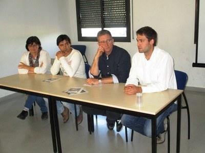 Núria Molist, Xavi Esteve, Fermí Fernández i Lucas Ramírez