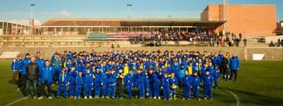 La presentació del Base Olèrdola ha reunit a 600 persones