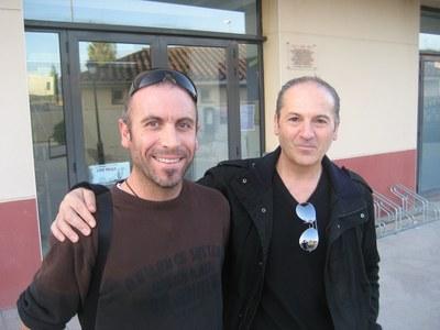 Jordi Àlvarez i Juan Mancebo, dos dels organitzadors
