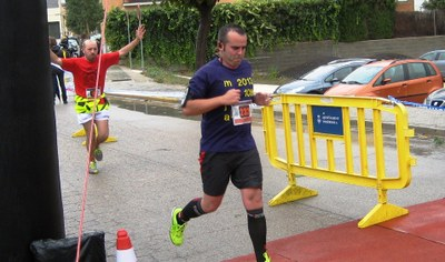 Juanma Samblás participava diumenge en la cursa 10K de Moja