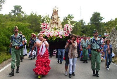 """(Foto: facebook Centre Cultural """"Virgen del Rocio"""" d'Olèrdola)"""