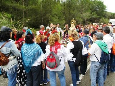 La Romeria del Rocío d'Olèrdola també inclourà actuacions artístiques diumenge a la tarda