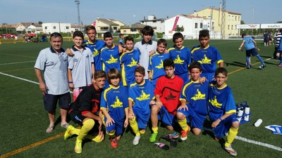 La selecció infantil d'Olèrdola guanya  el torneig comarcal de futbol 7