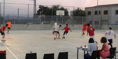 La setmana que ve es juga el 19è torneig de futbol sala de Sant Pere Molanta-memorial Jordi Petit i David Raventós