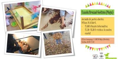La setmana que ve es realitzen jornades de portes obertes a les escoles bressol d'Olèrdola