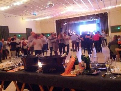El ball va ser un èxit