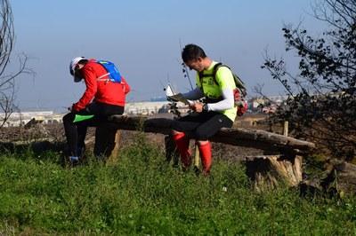 Els participants posaven a prova la seva orientació i estratègia(foto: David Solé)